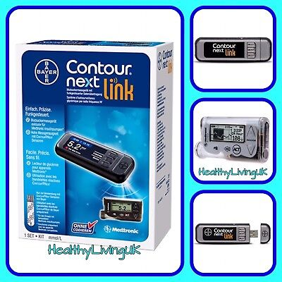 CONTOUR Next Link - Wireless Meter System - For MiniMed Veo/ Paradigm - RRP £399