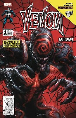 VENOM #1 ANNUAL CLAYTON CRAIN Variant COVER A PRE-SALE OCT 2018 Marvel NM HOT!!!