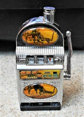 Dragons Treasure Metal Novelty Working  Slot Machine Cigarette Lighter Unused