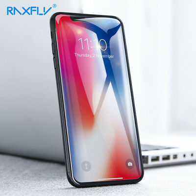 RAXFLY Tempered Protective Glass For Xiaomi MI 8 Max 3 A2/6X A1/5X Glass Screen