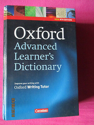 Oxford advanced learner s dictionary 8th edition
