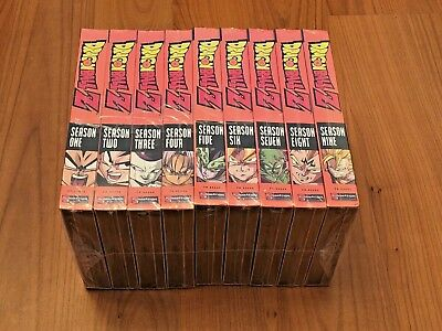 DRAGON BALL Z The Complete UNCUT Series Season 1-9Dragonball free shipping