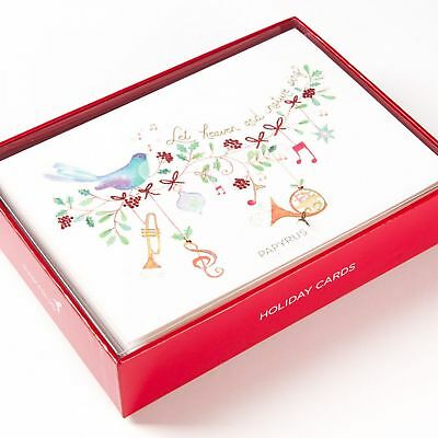 Papyrus Heaven & Nature Boxed Holiday Christmas Cards (Set of 14)