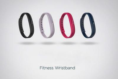 Fitbit Flex 2 Fitness Wristband w/ Removable Tracker Swim Proof 4 Colors Great!