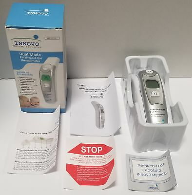 Innovo Medical Forehead and Ear (Dual Mode) Thermometer (SEE PHOTOS)
