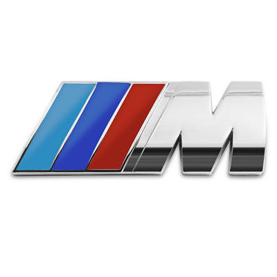 Bmw M Power M Sport Boot Badge Rear Emblem Sticker Series 2 3 4 5 6 7 X3 X5 X6