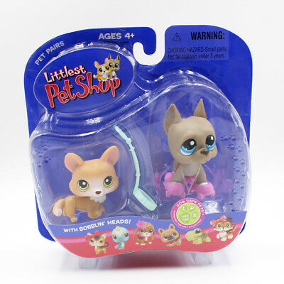Littlest Pet Shop playset Collectible LPS toys great dane #184 Kids gifts
