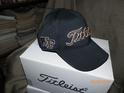 huge selection of cb37d 9f1b1 1 Brand New Titleist Tour Golf Hat (Wake Forest Demon Decans) Th7Apcol-Wf