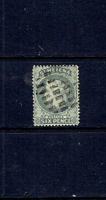 Saint Helena - Queen Victoria Six Pence - Sg 44 - Used