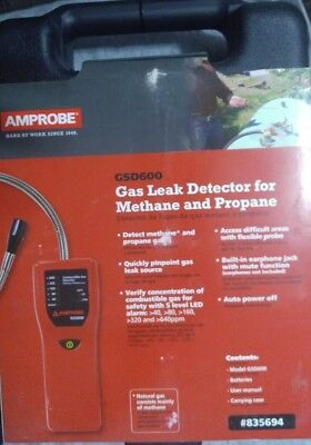 Amprobe GSD600 Gas Leak Detector for methane and propane gas.