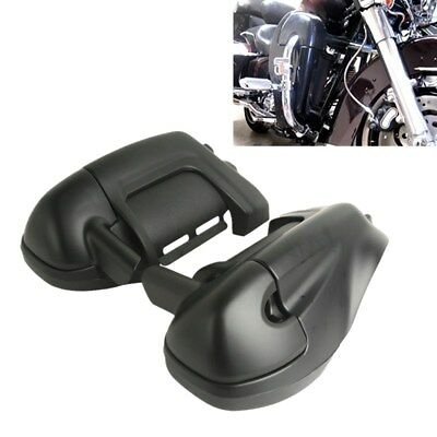 TC Matte Black Lower Vented Leg Fairings Glove Box For Harley Street Road Glide