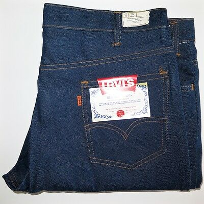 VINTAGE ORIGINAL LEVIS BELL BOTTOMS LOT 646 0217 DEADSTOCK 1970s W40 L30 NOS NWT