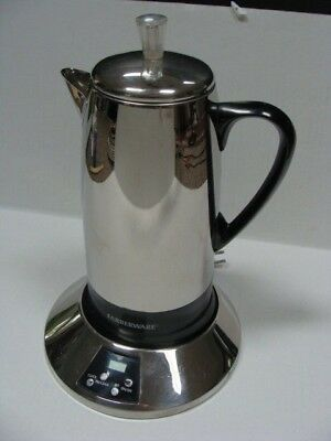 Vintage Farberware FCP512 Coffee Pot Electric Percolator 2-12 cup