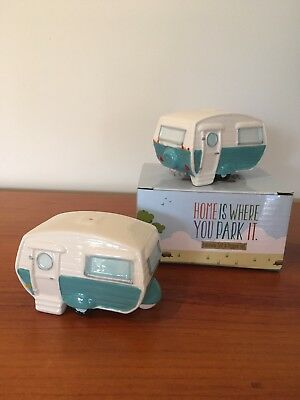 Caravan Salt and Pepper Shakers