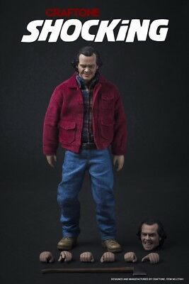 In Stock 1/6 Scale Jack Torrance The Shining Figure Toys Hot Shocking Craftone
