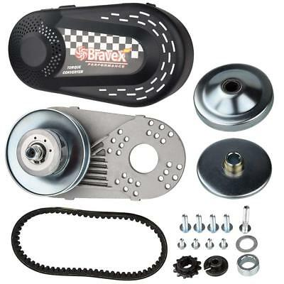 Mini-bike Go Kart Clutch Set 6.5HP 30 Series 10t Torque Converter #40/41