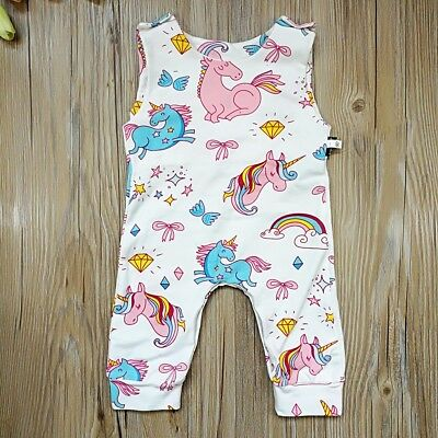388ef75d0b9 Toddler Newborn Kids Baby Boys Girls Bodysuit Romper Jumpsuit Playsuit  Outfits