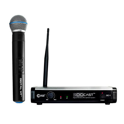 300ft range 48kHz 24 bit DC-1 Single Digital Wireless Handheld Microphone System