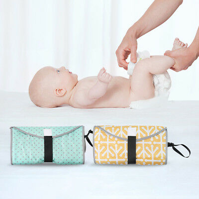 EP_ Portable Clean Hands Changing Pad 3-in-1 Baby Diaper Clutch Changing Station