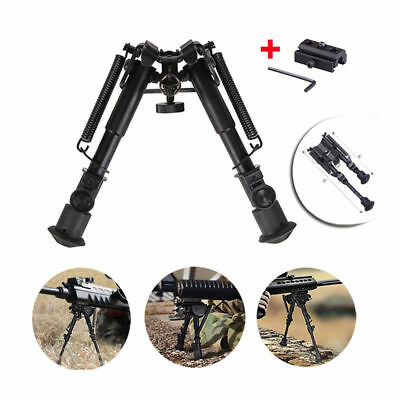 """Tactical 6""""-9"""" Adjustable Swivel Pivot Rotatable Bipod With Sling Mount Adapter"""