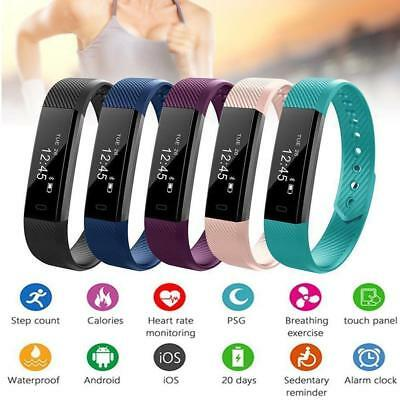 Children Adult Smart Bracelet Watch Fitness Activity Tracker Monitor Pedometer