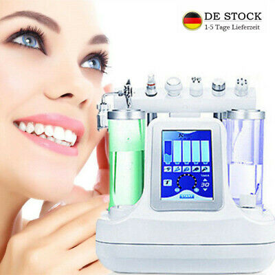 6 in1 BIO RF Hydra Dermabrasion Aqua Peel Schönheit Machine Deep Clean Care Skin
