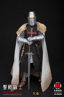 "Toi Toys 12/"" Action Figure Medieval Knight TEMPLAR CRUSADER SHIELD /& BIG AX Acc."