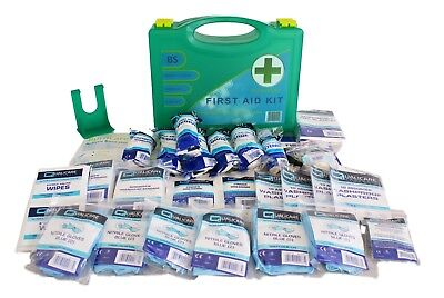 First Aid kit, British Standard compliant, Small kit - for the workplace