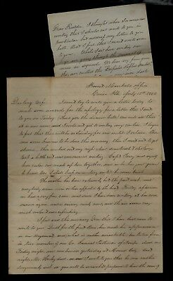 139th Illinois Infantry CIVIL WAR LETTER from Cairo, IL - Great Content Here !
