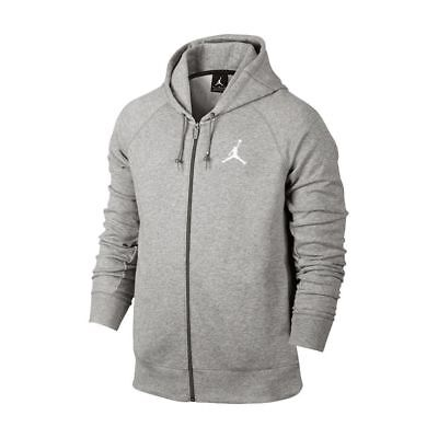 ab61990bbe Air Jordan Flight Lite Men's Full-Zip Basketball Hoodie Dark Grey 822658-063