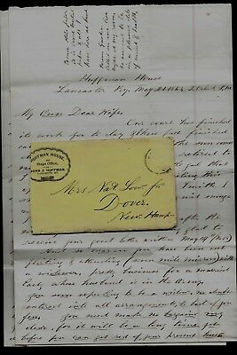 11th New Hampshire Infantry CIVIL WAR LETTER from Lancaster, KY - CONTENT !!