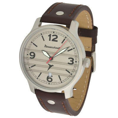 Messerschmitt Aviator Watch Special Model 80 Jahre Record Flight ME-BF108L 5ATM