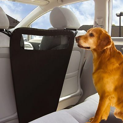 Auto Pet Barrier Blocks Dogs Access To Car Front Seats & Keep Dogs In Back Seat