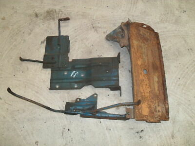 Ford 4600 Battery Tray Assembly in Good Condition