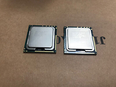2x Intel XEON X5670 2.93 GHz 12MB SLBV5 6 Core 6.40GT/s LGA1366 Matched Pair CPU