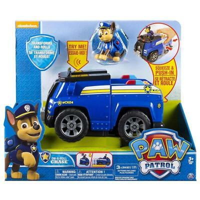 Paw Patrol On a Roll Chase Figure and Deluxe Vehicle with Sounds