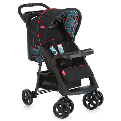 Fisher-Price Buggy Kinderwagen Orlando mit Liegeposition & großem Verdeck Black