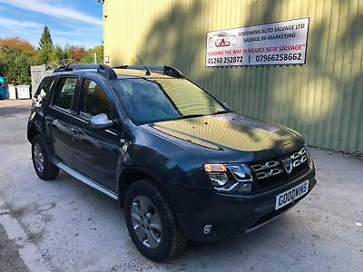 2018 DACIA DUSTER 1.2 TCe LAUREATE ACCIDENT DAMAGED REPAIRABLE SALVAGE