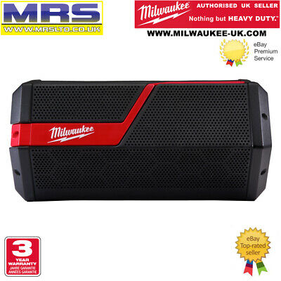 Milwaukee M12-18JSSP-0 Bluetooth Speaker - M12/M18 - 4933459275