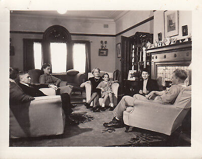 Original WWII Censored Photo 32nd DIVISION MOTHER'S DAY in Sydney Australia 55