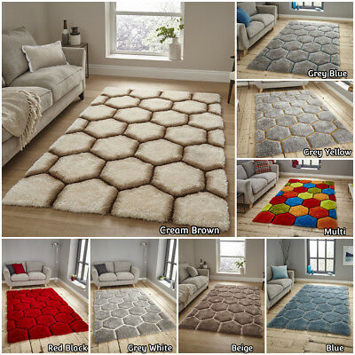 Think Modern In Small Extra Large Designer Soft Carved Multi Acrylic Grey Rug