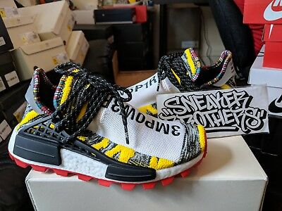 Adidas Pw Solar Pack Hu Nmd Pharrell Williams Human Race Yellow