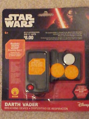 New-Disney-Star-Wars-Darth-Vader-Realistic-Breathing-Sound-Device-Rubie's-2416-