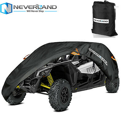 300D Utility Vehicle Storage Cover 2 Row Seats Fit for Can-Am Maverick X3 Max R