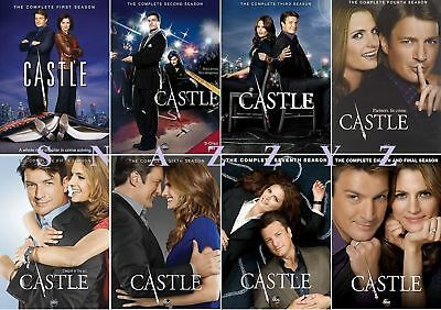 CASTLE  The Complete Seasons 1-8 BRAND NEW FACTORY SEALED