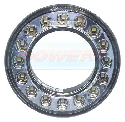 98mm ROUND LED REAR FOG LIGHT OUTER RING FOR 55mm COMBINABLE REAR LIGHTS KIT CAR