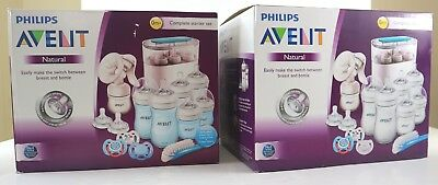 Philips Avent Natural Complete Baby Steriliser Breast Pump Bottles Soothers
