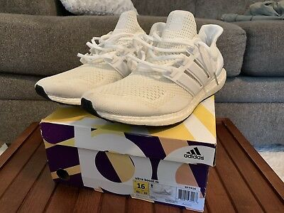 dacd840b8 ADIDAS ULTRA BOOST 1.0 Triple White S77416 RARE Size 16 US -  200.00 ...