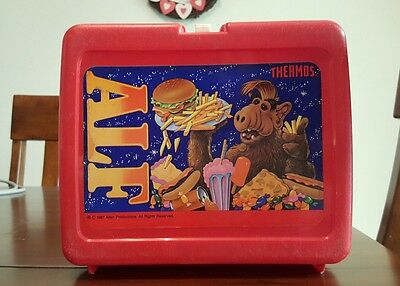 "Vintage Alf ""Thermos"" Lunchbox - 1987"