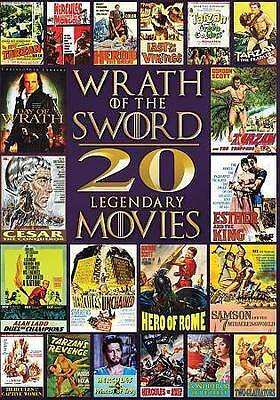 Wrath of the Sword: 20 Movies - Tarzan, Hercules, Last of the Vikings (4 DVD)